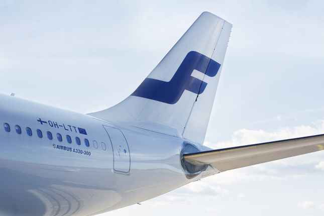 Finnair airbus tail 01